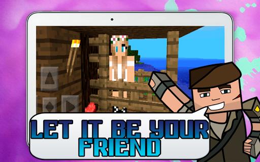 GirlFriend Mod for Minecraft poster GirlFriend Mod for Minecraft apk  screenshot