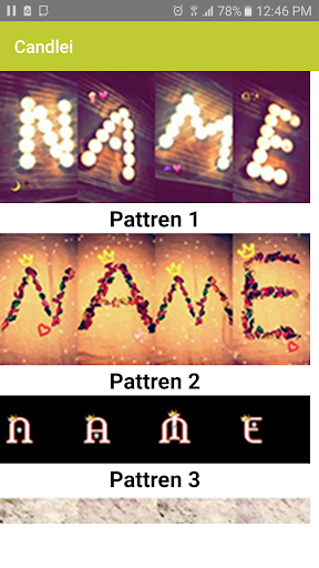 Photo Designer - Write your name with shapes 3.1 Screenshots 1