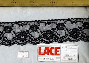 Photo: №5134-907ラッセル黒:巾60mm