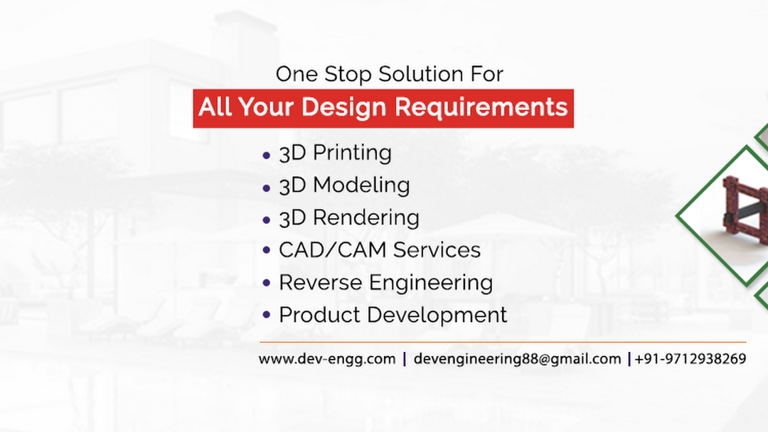 DEV Engineering - Design | Product Development | 3D Printing