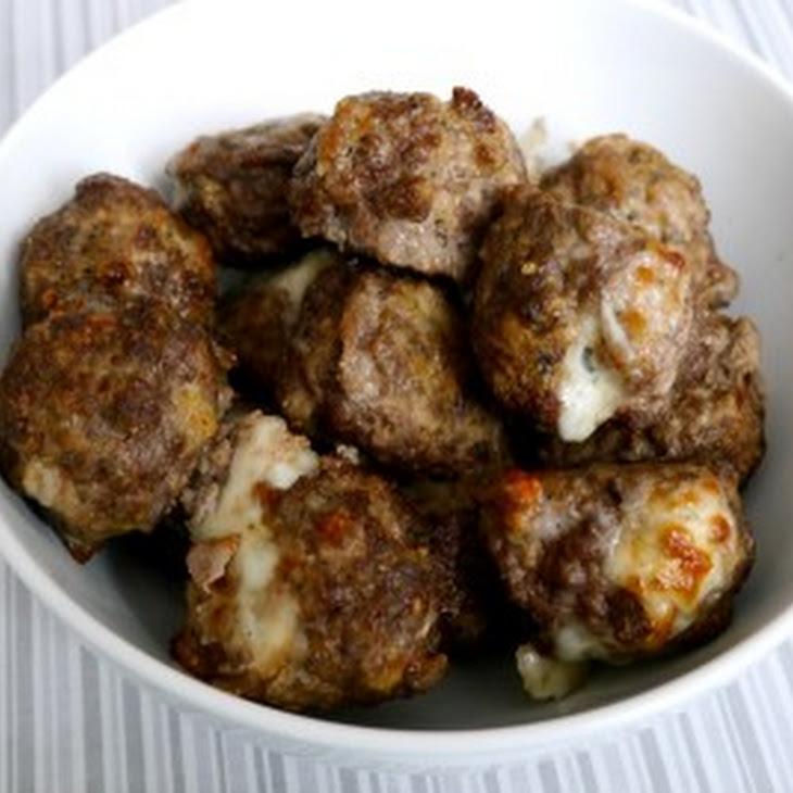 Cheese Stuffed Meatballs Recipe   Yummly