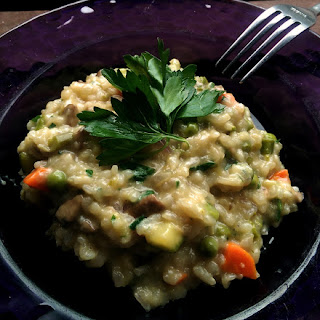 James Bond Risotto Primavera – Stirred not Shaken