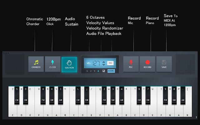 KBD To MIDI Piano