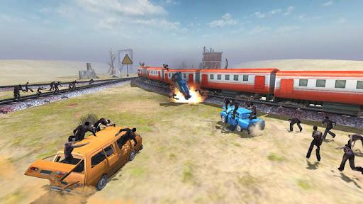Train shooting - Zombie War apkpoly screenshots 12