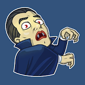 Scary & Horror Stickers WAStickersApp