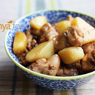 Ayam Pongteh Recipe (Nyonya Chicken and Potato Stew).