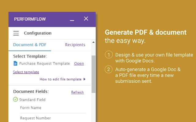 Performflow Form Publisher Approvals Workflow G Suite