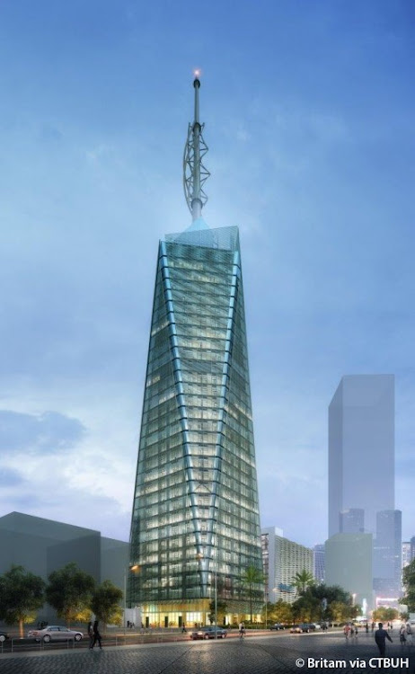 Britam tower./COURTESY
