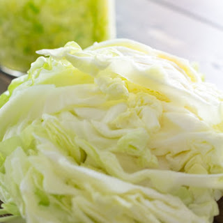 2-Ingredient Sauerkraut [Recipe]