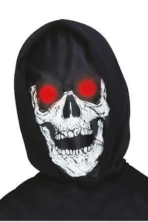 Mask, Dödskalle med röda ögon