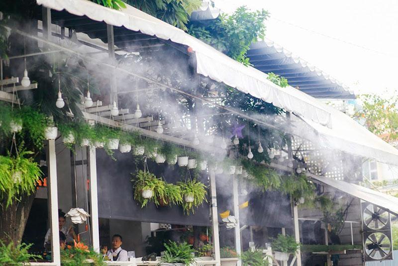 Tìm hiểu về giá của hệ thống phun sương hiện nay
