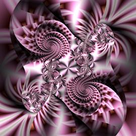 Lovely swirl by Cassy 67 - Illustration Abstract & Patterns ( digital, love, surreal, harmony, abstract art, surrealism, spiral, abstract, fractals, digital art, classic, swirl, modern, light, fractal, energy )