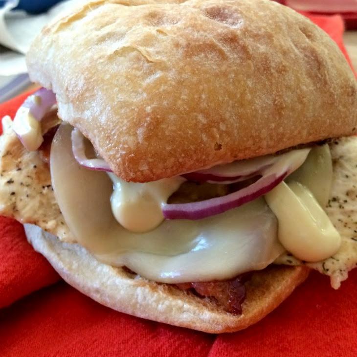 Hawaiian Grilled Chicken Sandwich Recipe