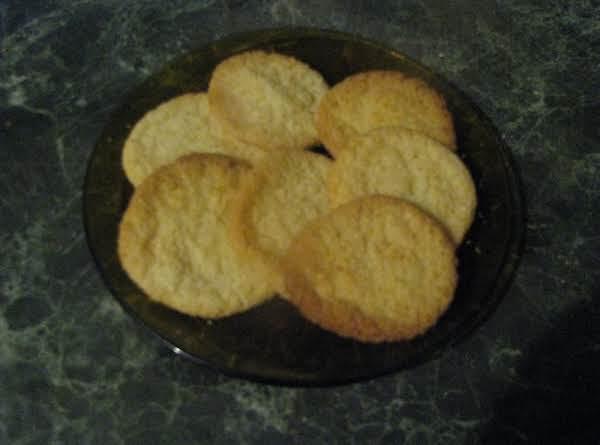 Butter Coconut Cookies Recipe
