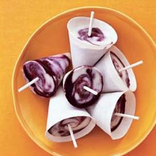 Lemon-Blueberry Twist Pops.