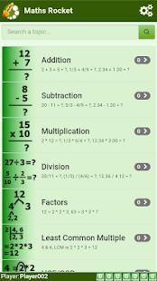 Maths Rocket - náhled