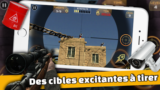 Code Triche Ultimate Sniper: 3D Tireur d'arme à feu apk mod screenshots 2