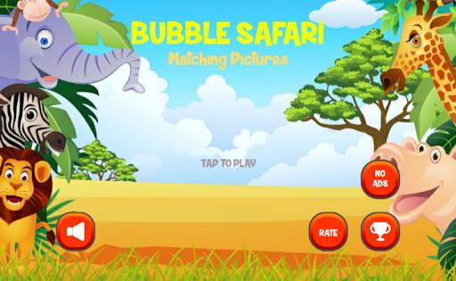 Bubble Safari:Matching Picture