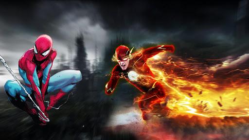 Ultimate Lightning Speedster Superhero:Flash Game2 1.3 screenshots 2