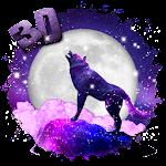 3d Galaxy wolf