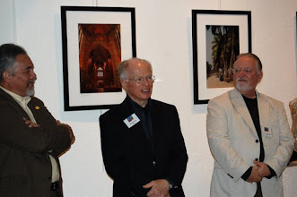 Photo: PHIL BROWN has 10 pieces displayed in the exhibition gallery at the Arts Barn – 311 Kent Square