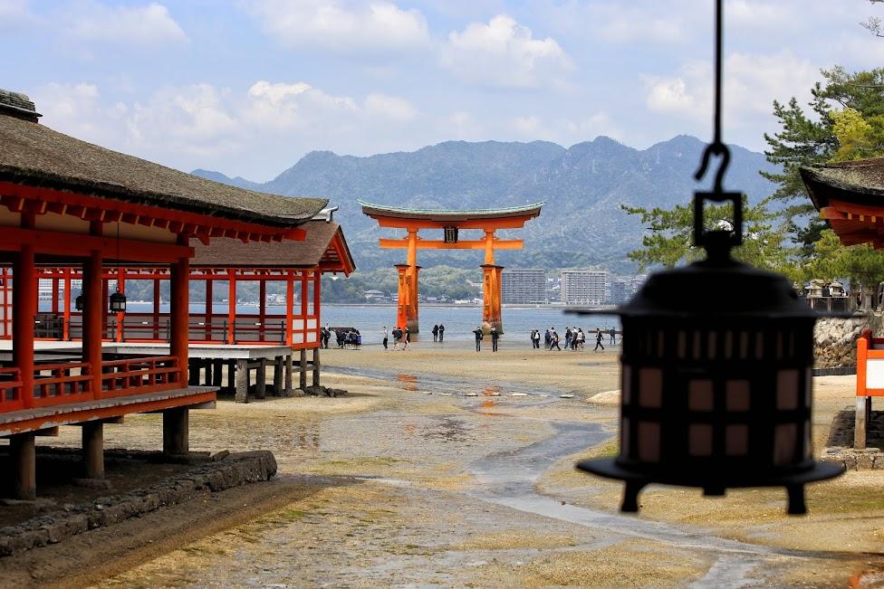 Miyajima, Itsukushima, brama torri