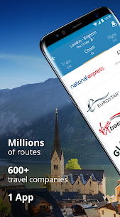 GoEuro: trains, buses, flights 1