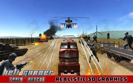 Heli Attack: Train Rescue