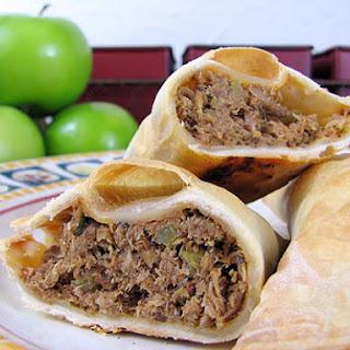 Pork and Apple Empanadas.