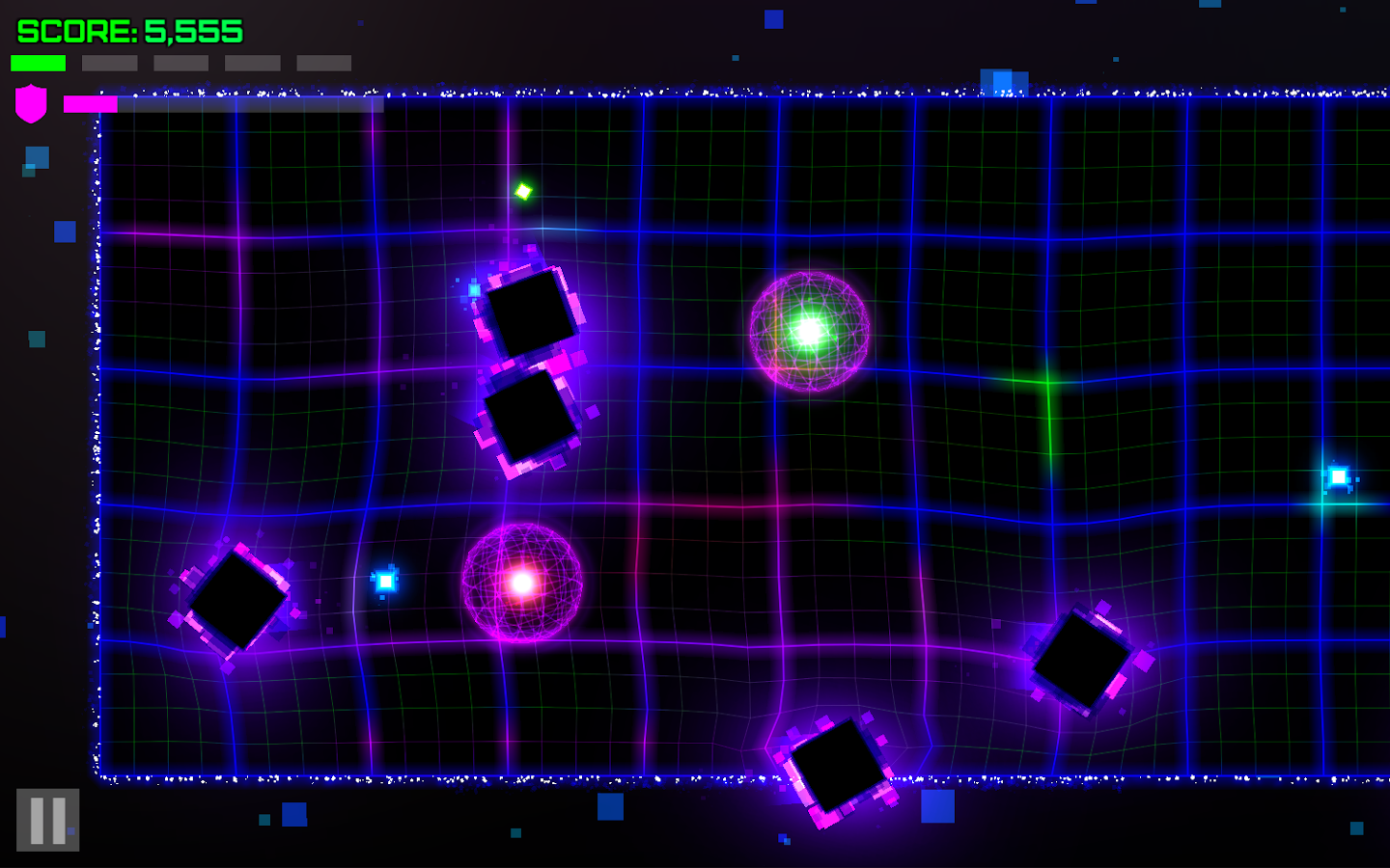 Neo Duo: Neon Geometry Dodge- screenshot