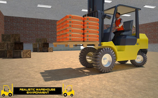 Forklift Games: Rear Wheels Forklift Driving 1.02 screenshots 12