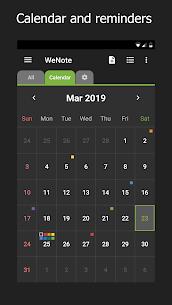 WeNote Premium v3.49 MOD APK – Color Notes, To-do, Reminders & Calendar 2
