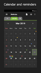 WeNote - Color Notes, To-do, Reminders & Calendar Screenshot