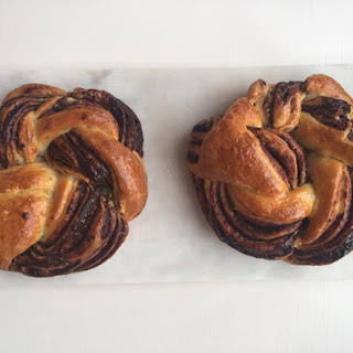 Chocolate Brioche Plaits