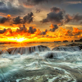 Dream Motions by Agoes Antara - Landscapes Waterscapes