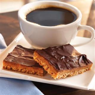 Coffee Toffee Bars.