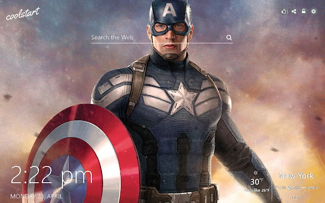 Captain America HD Wallpapers Marvel Theme
