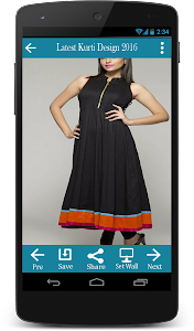 Latest Kurti Design 2016 screenshot 1