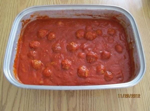 Spaghetti W/meatballs For A Crowd Recipe