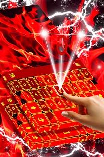 Red Flame Klávesnice - náhled