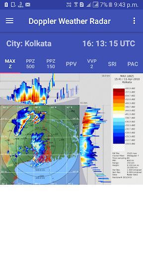 satellite weather & radar india screenshot 1