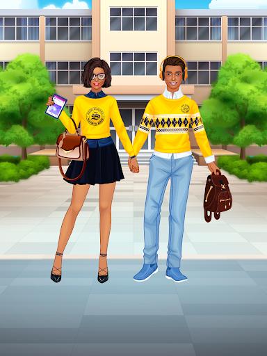 High School Couple: Girl & Boy Makeover 1.6 screenshots 11
