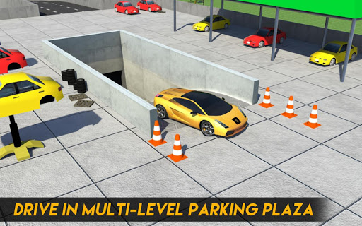 Multi-Storey Car Parking Spot 3D: Auto Paint Plaza filehippodl screenshot 8