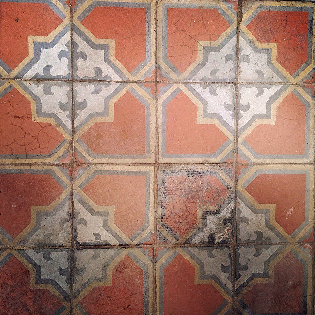 Hong Kong, Floor Tile, Old Style, vintage, 香港, 古式, 地磚