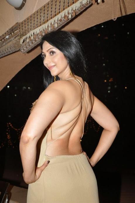 Kalpana Pandit hot back
