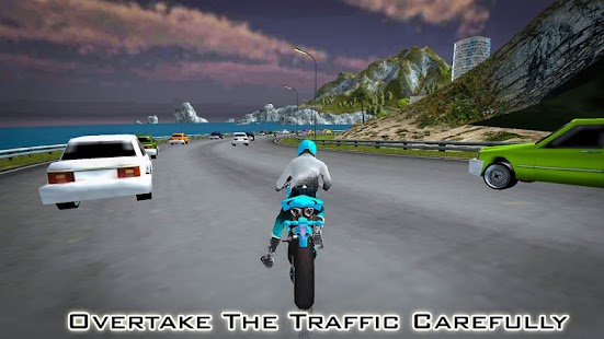 Racing on Bike screenshot
