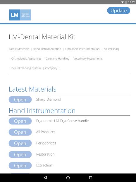 LM-Dental Material Kit screenshot 3