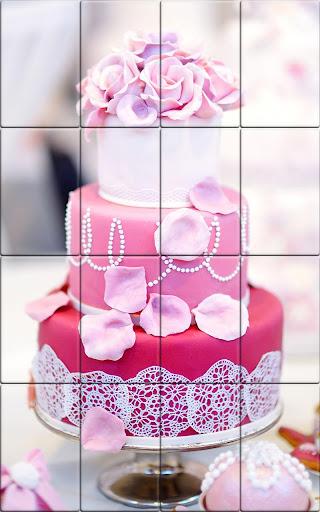 Tile Puzzle Wedding Cake apkpoly screenshots 3