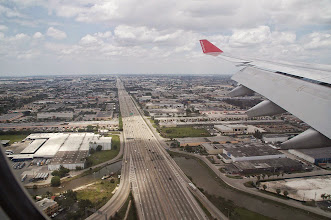 Photo: Anflug Miami Airport