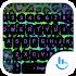Keyboard Theme Leopard Neon